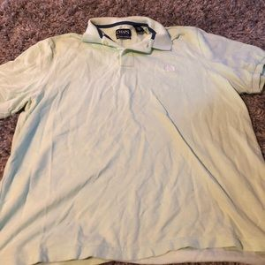 Chaps Polo shirt. Mint green